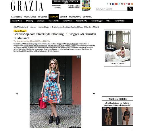 grazia germany magazine