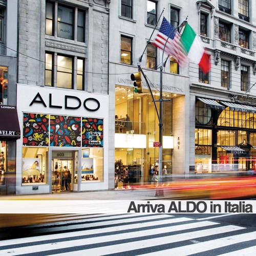 Arriva il primo negozio ALDO shoes in Italia c0c565a3f83
