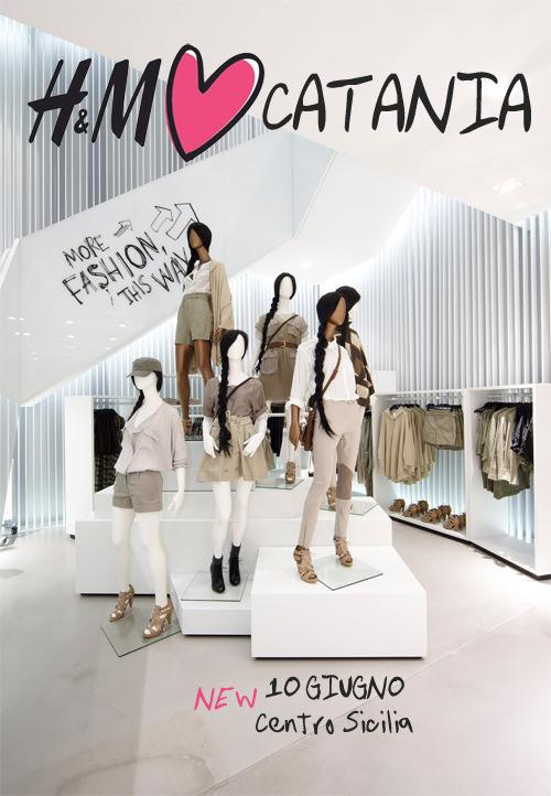 City Guide// Apre un nuovo H&M a Catania presso il Centro ...