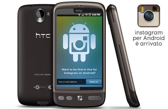 App instagram sbarca ufficialmente su android le for App per vedere telecamere su android