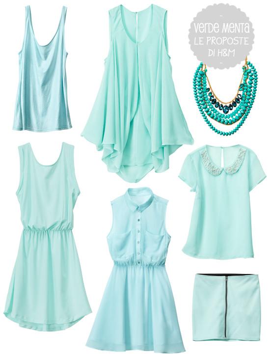orologio 4f0ad 379f3 Verde menta, abiti e accessori H&M per look colorati ...