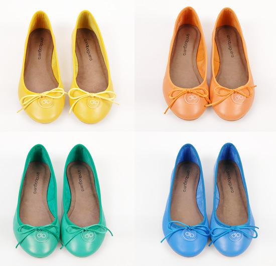 huge discount dc42f 4cedb SHOES// Le ballerine morbide e colorate di Anna Baiguera ...