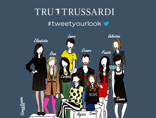 tweetyourlook_illustrazione