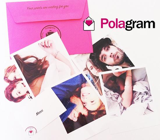 Polagram print