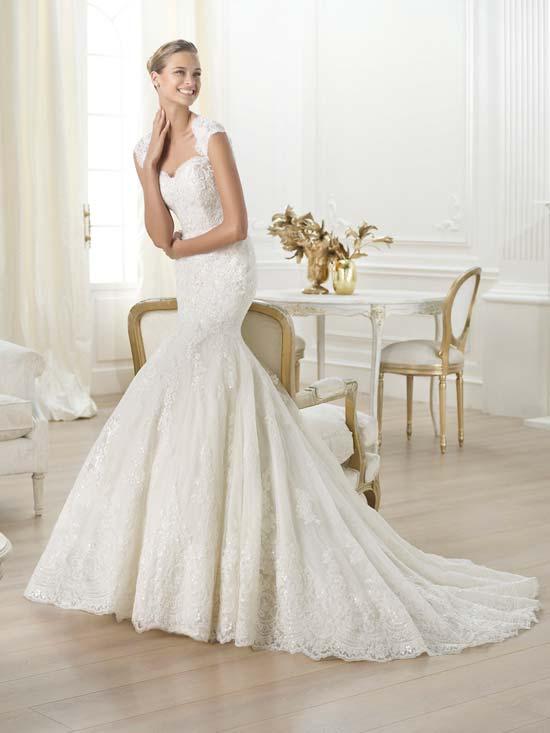 617e62d17f6a Gli abiti da sposa Pronovias collezione 2014  moda e qualità a ...