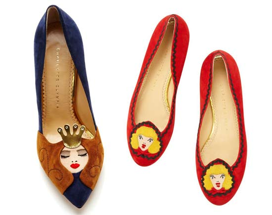 one upon a time collection di charlotte olympia sleeping On charlotte olympia milano