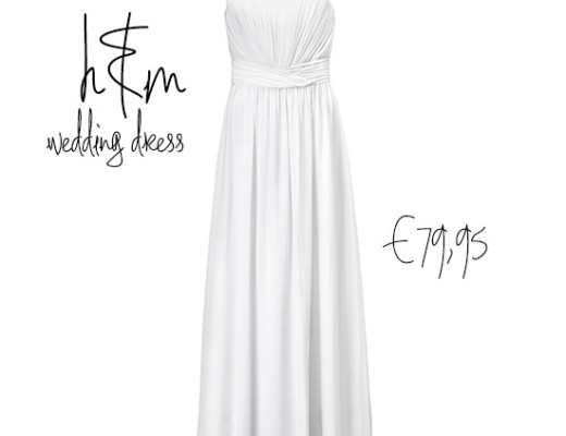 H&M wedding dress abito da sposa