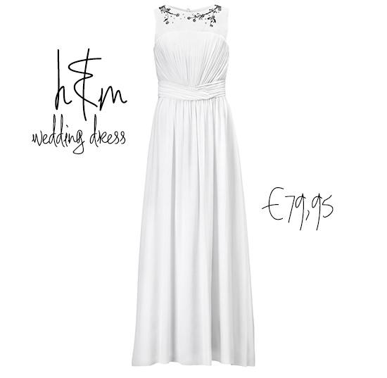 Свадебное платье от H&M  - бюджетный вариант