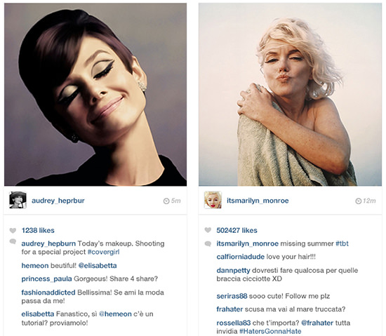 Instagram_audrey_hepburn_marilyn_monroe