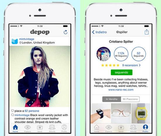 depop_app_vendere_online