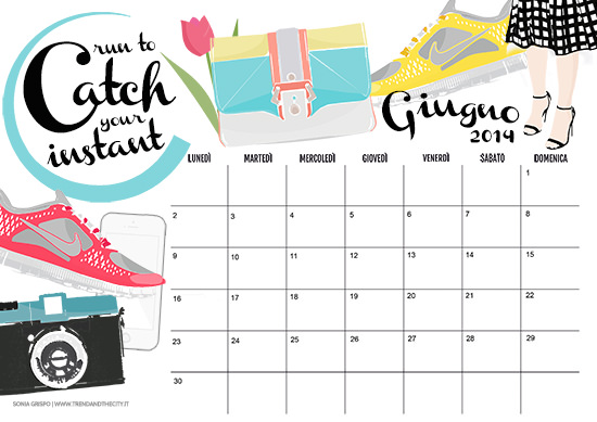 calendario gratis giugno