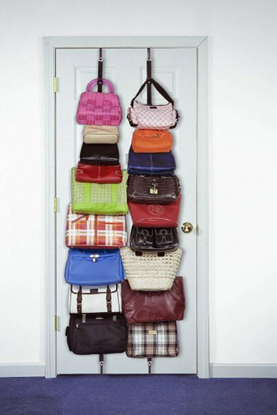 Come ordinare le borse nell 39 armadio e non solo con - Mobiletto fai da te ...