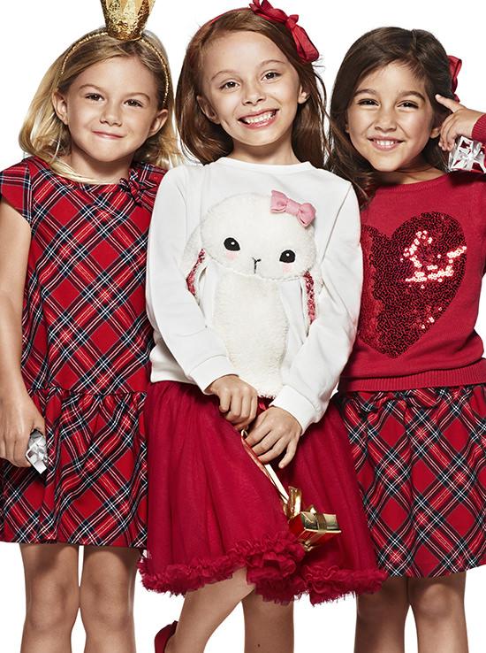 H&M Holiday 2014 bambini natale