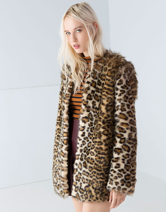 Fake Fur Bershka