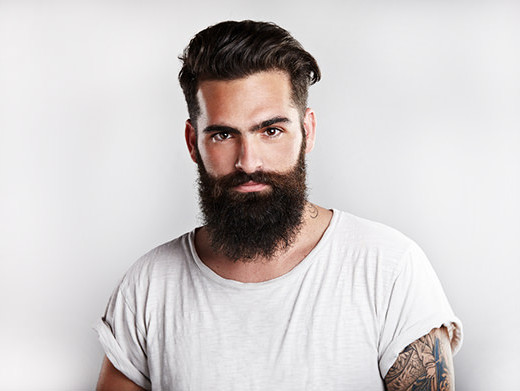 La tendenza della barba e l'invasione dei bearded man