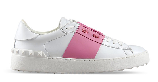 Le sneakers open valentino garavani ricordano le stan for Stan smith colori