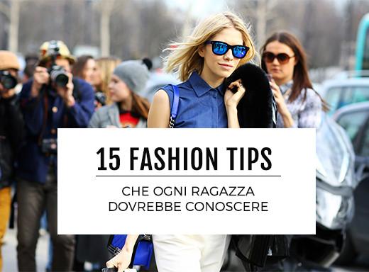 15 fashion tips che ogni ragazza dovrebbe conoscere (e che le mamme sanno già)