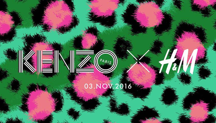 KENZO x H&M la nuova collezione designer è ufficialmente in arrivo