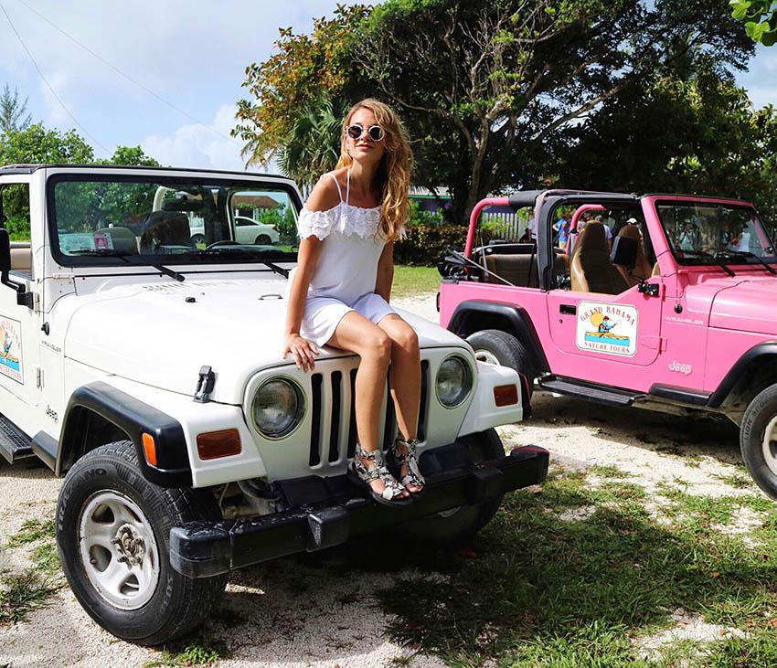 bahamas jeep escurisone Lucayan National Park