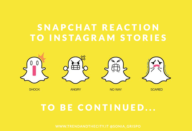snapchat reaction to instagram stories