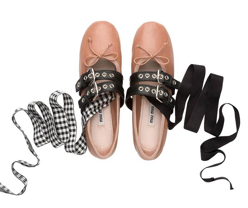 codici promozionali sconto del 50 piuttosto bella Le ballerine Punk di Miu Miu, quelle economiche di Zara e la ...