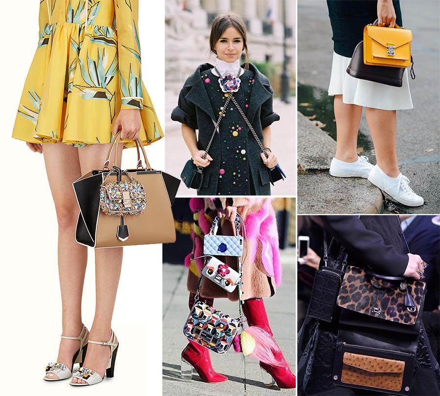 7e13955126 Tendenza inverno 2016-2017: la doppia borsa come Prada e Dior... da  provare? | Trend and The City