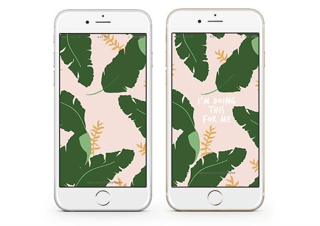 sfondi-iphone-sfondo-foglie-banano-tropical