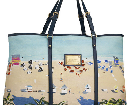d197cdb791 BORSE MARE// eleganti e colorate le beach bag di Louis Vuitton per l'estate  2011