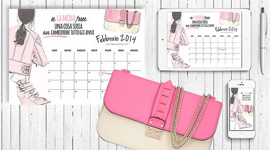 calendario gratis febbraio 2014 fashioncalendario