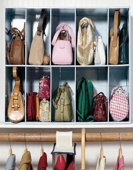 Come ordinare le borse nell'armadio e non solo, con soluzioni ...