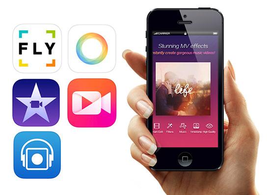 5 app per modificare montare e creare favolosi video con