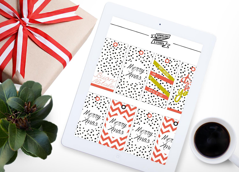 Etichette Natalizie Da Stampare download & stampa: le etichette per i regali di natale e i