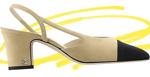 Slingback: la scarpa bicolore di Chanel è il must-have dell'inverno (e di sempre)