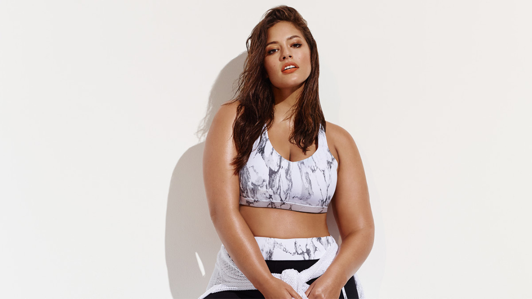 Ashley Graham forever21 active wear plus size