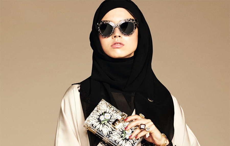 Gli abaya e hijab di lusso di dolce gabbana per le donne - Perche le donne musulmane portano il velo ...