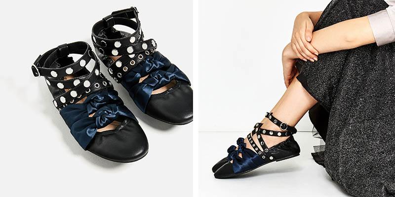 scarpe da ginnastica garanzia di alta qualità presentando ballerine-miu-miu-zara – Trend and The City