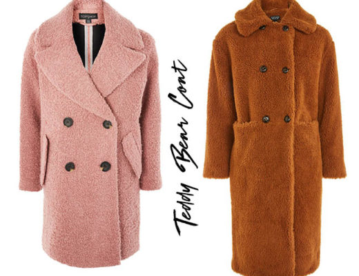 teaddy bear coat cappotto tendenza