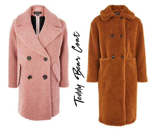 teaddy bear coat cappotto tendenza