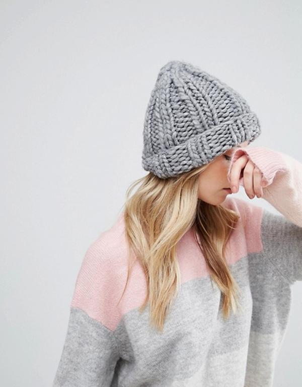 cappello-lana-asos-grigio