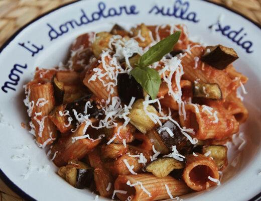ricetta pasta alla norma catania